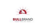 Bull Brand Logo Template