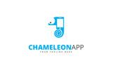 Chameleon App Logo Template