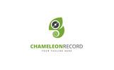 Chameleon Record Logo Template