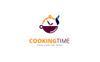 Cooking Time Logo Template Big Screenshot