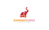 Elephant Coffee Logo Template Big Screenshot