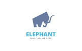 Elephant Creative Logo Template