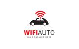 Wifi Auto Logo Template