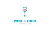 Wine & Food Logo Template