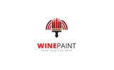 Wine Point Logo Template