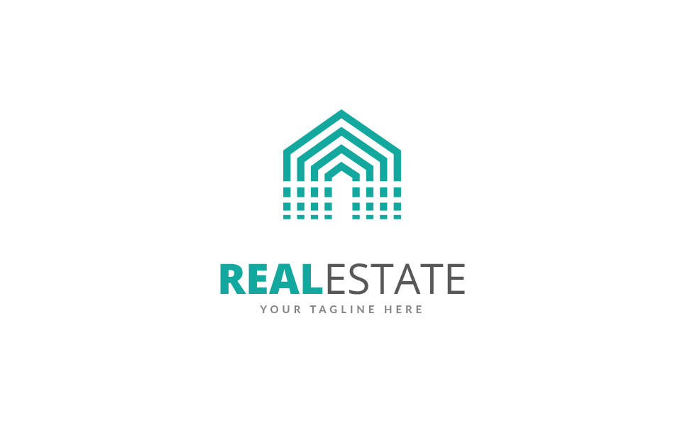 creative real estate logo template 69206