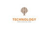 Creative Digital Tree Logo Template Big Screenshot