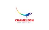 Creative Chameleon Logo Template