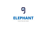 Creative Elephant Logo Template