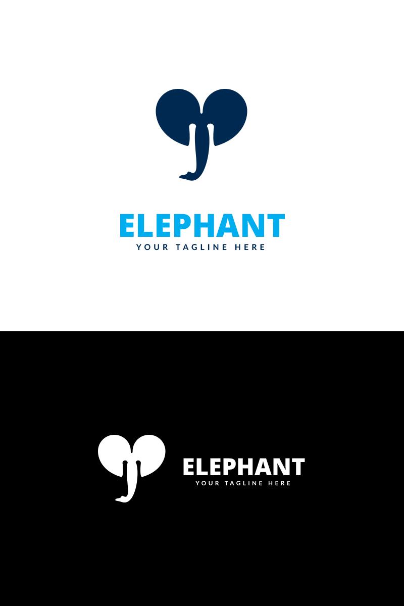 elephant app logo template 69274