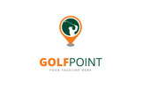 Golf Point Logo Template