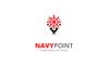 Navy Point Logo Template Big Screenshot