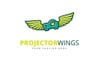 Projector Wings Logo Template Big Screenshot