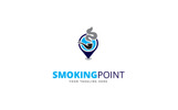Smoking Point Logo Template