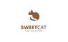 Sweet Cat Logo Template Big Screenshot