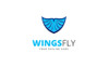Wings Fly Logo Template Big Screenshot