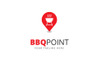 BBQ Point Logo Template Big Screenshot