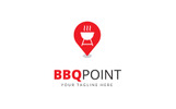 BBQ Point Logo Template