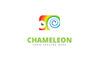 Cute Chameleon Logo Template Big Screenshot