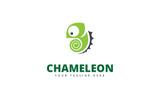 Chameleon Brand Logo Template
