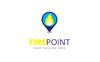 Fire Point Logo Template Big Screenshot