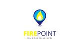 Fire Point Logo Template