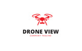 Drone View Logo Template