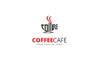 Coffee Cafe Shop Logo Template Big Screenshot