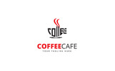 Coffee Cafe Shop Logo Template