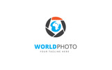 World Photo Logo Template