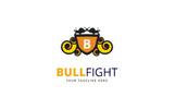 Bull Fight Logo Template