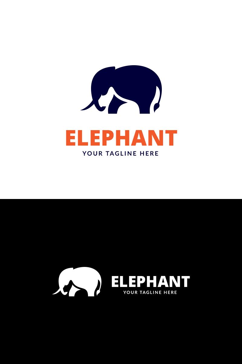elephant app logo template 69927