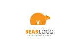 Bear Brand Logo Template