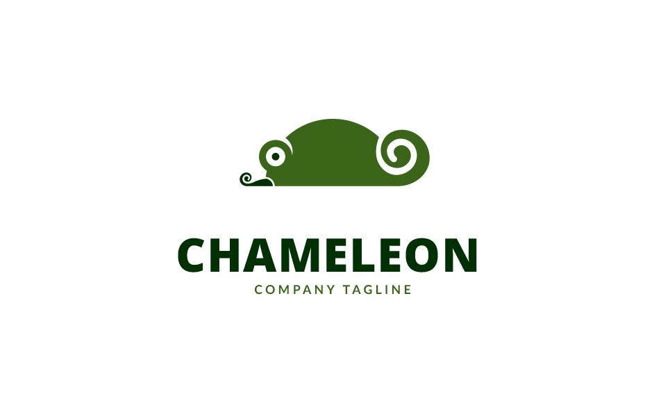Chameleon Design Logo Template #70027