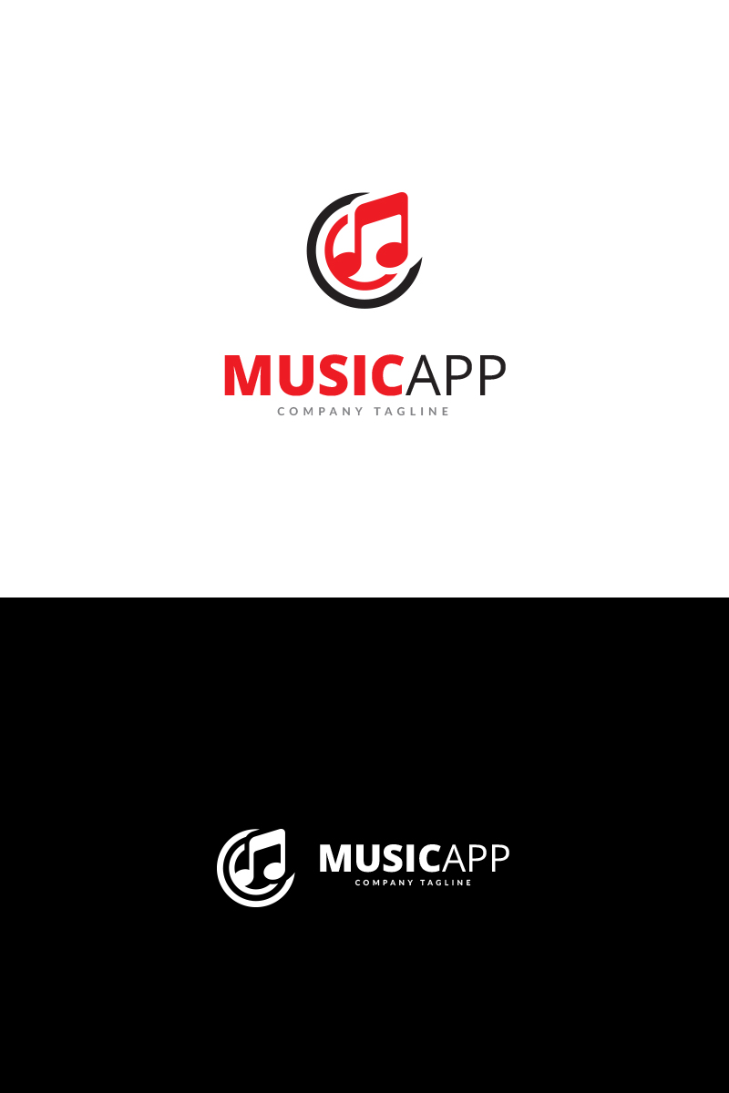music app logo template 70242