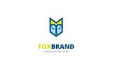 Fox Brand Design Logo Template