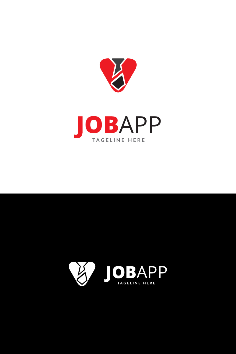 job app logo template 70314