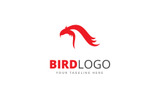 Bird Design Logo Template