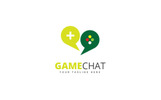 Game Chat Logo Template