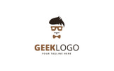 Geek Design Logo Template