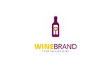 Wine Brand Logo Template