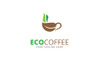Eco Coffee Logo Template Big Screenshot