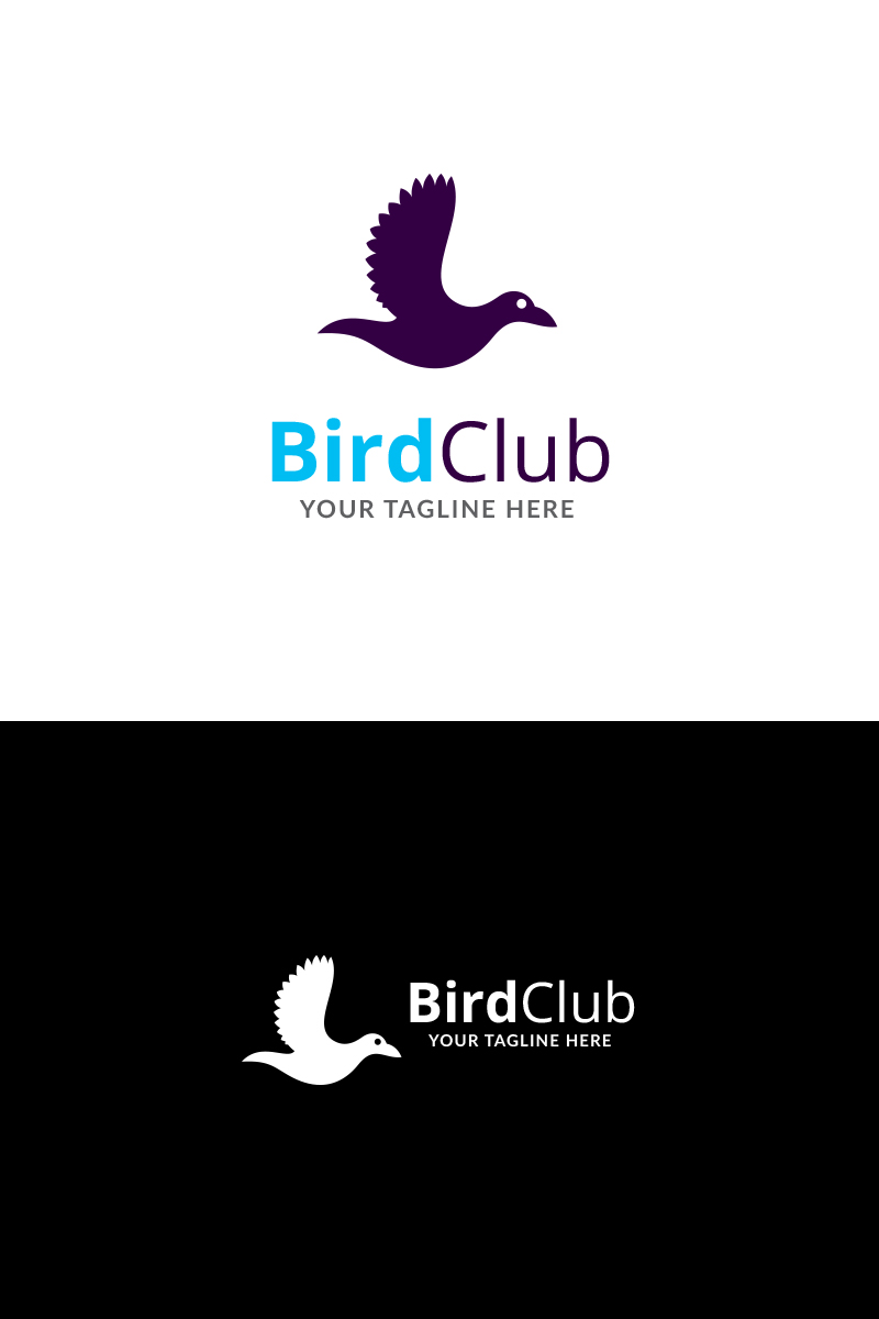 Bird Club Logo Template 72132