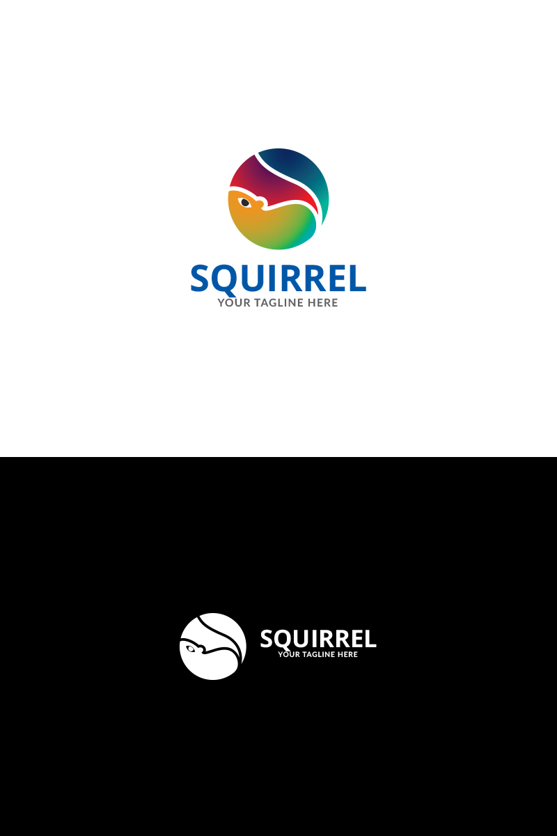 Squirrel News Logo Template #73403