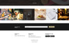 Restaurant Dany PSD Template Big Screenshot