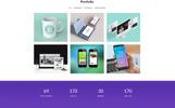 Lucky 7 Onepage portfolio PSD Template