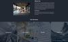 Arch Bureau Landing Page-mall En stor skärmdump