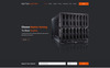 Neptun Hosting - One Page Hosting Template Photoshop  №79919 Screenshot Grade