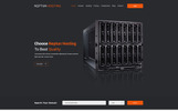 Neptun Hosting - One Page Hosting Template Photoshop  №79919
