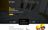 """WEBUILD - Construction & Building"" modèle PSD adaptatif"